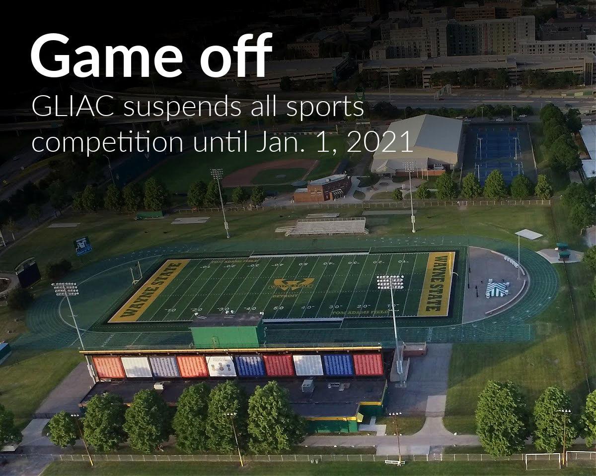 GLIAC suspends sports competition through 2020