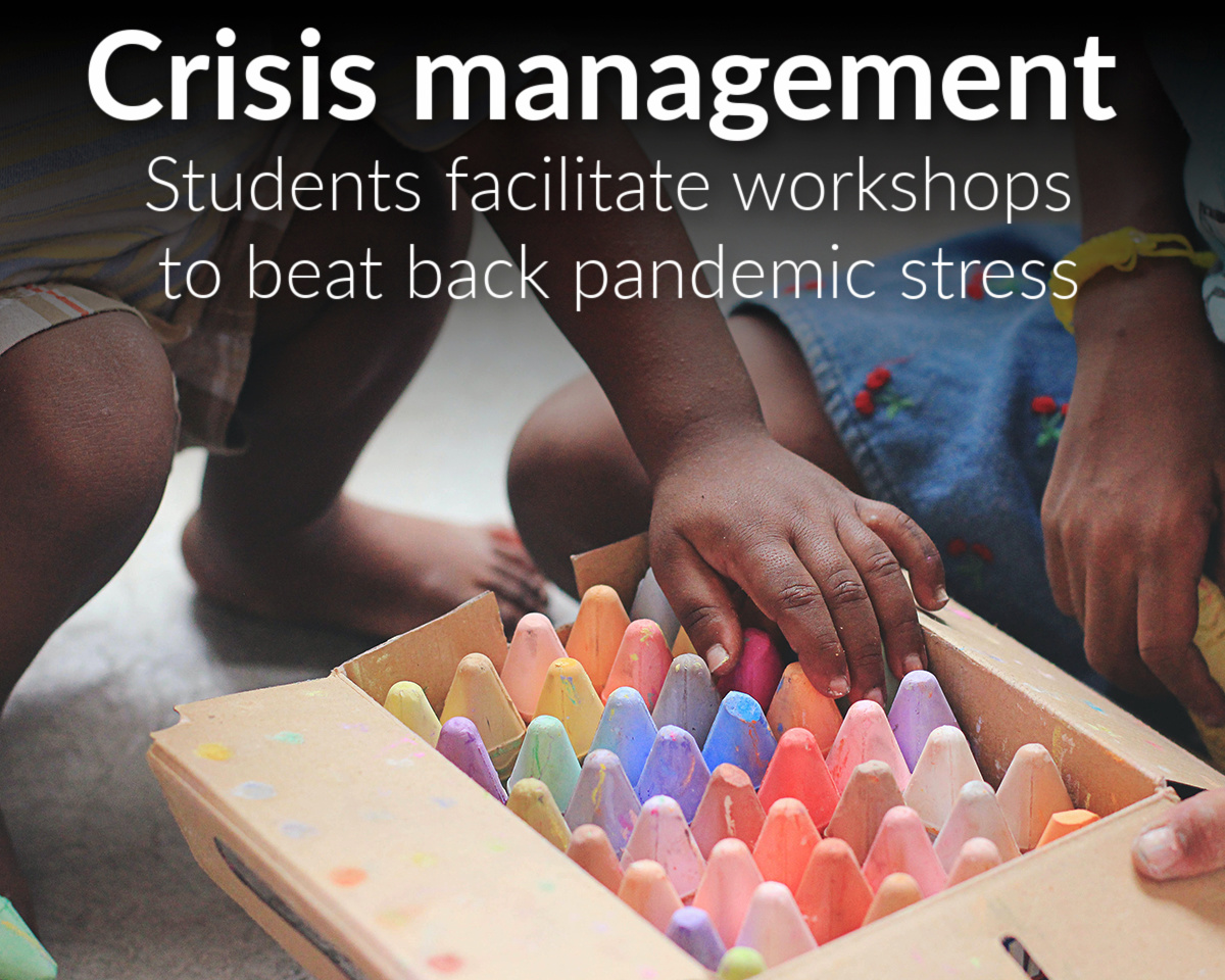 Students facilitate mental health workshops to beat back pandemic stress