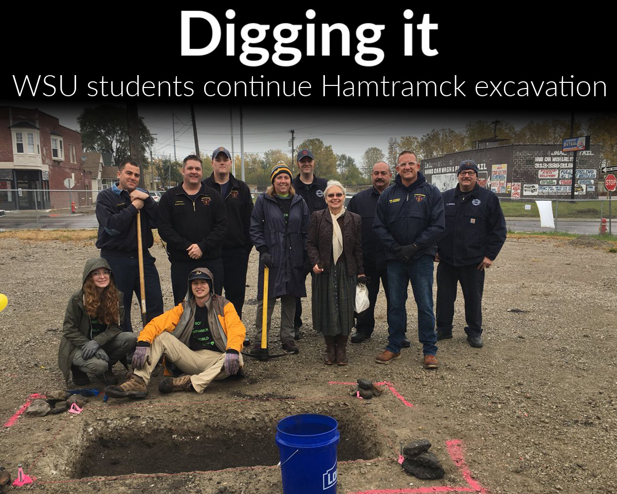 Wayne State students unearth Hamtramck's past