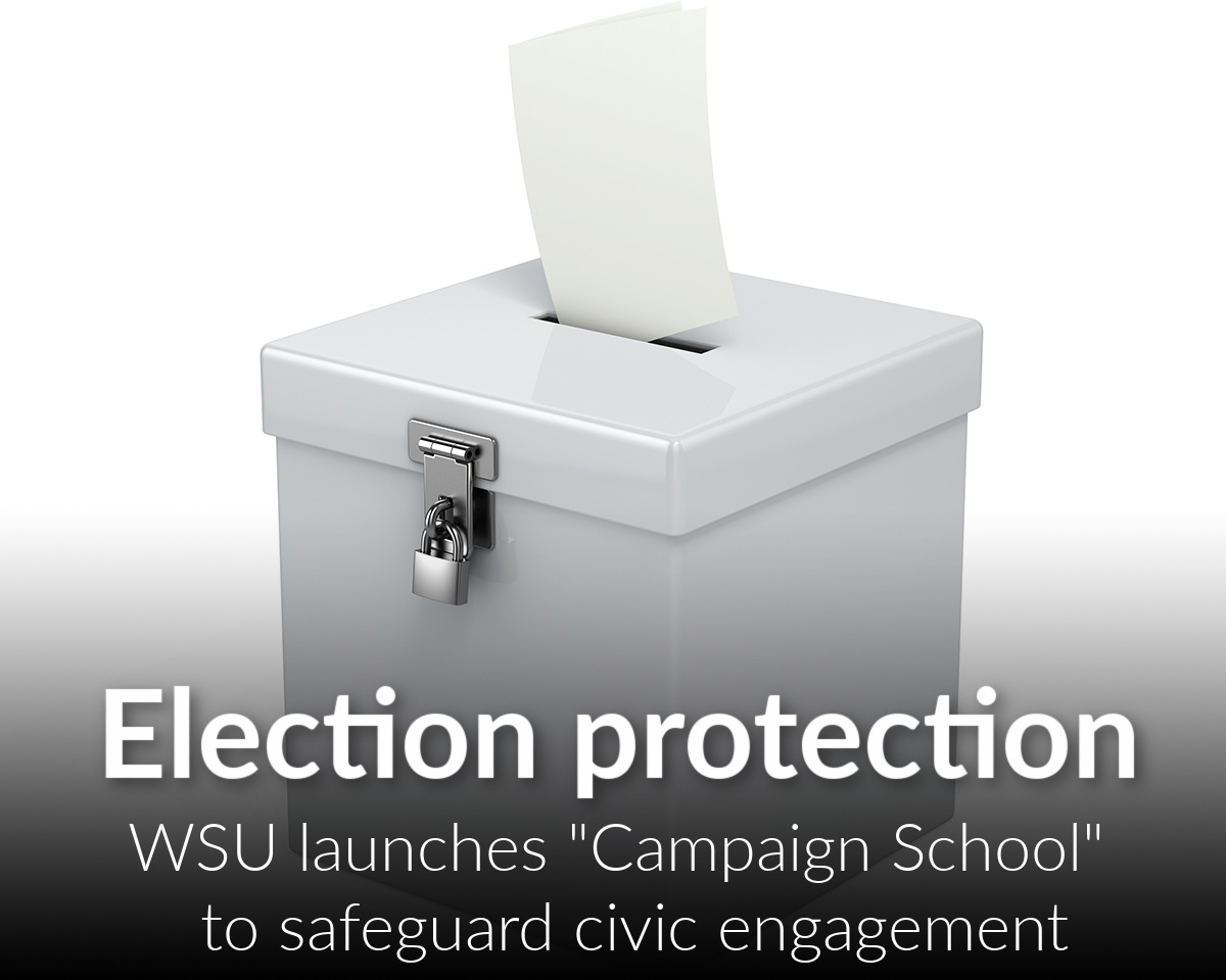 Protecting the Right to Vote: Social Work invites the Warrior Community to Campaign School