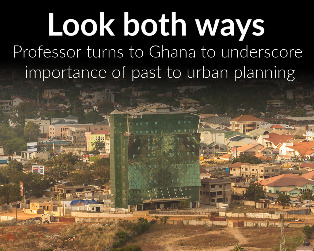 History professor helps explain why urban planning should first look to the past