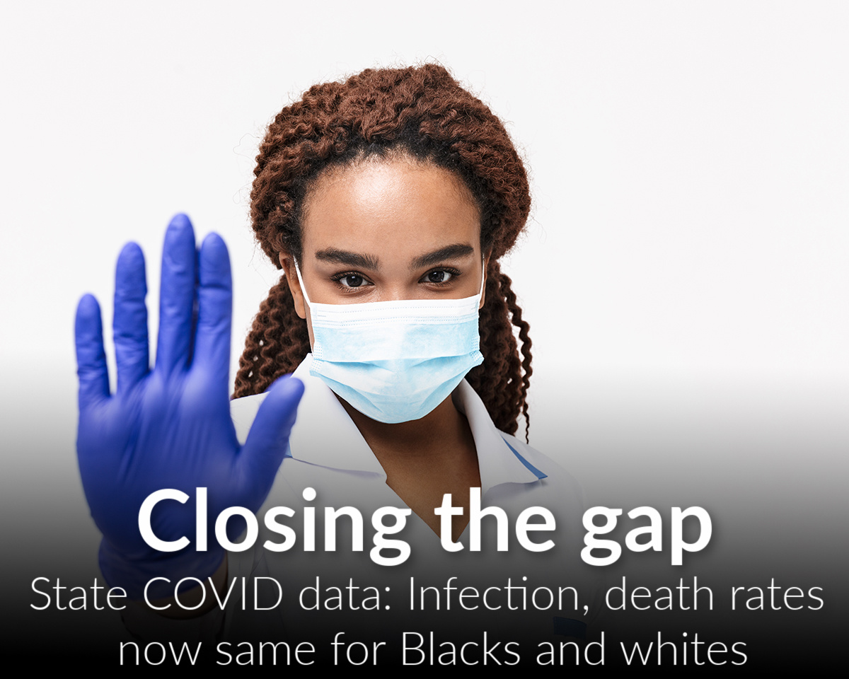 Whitmer, state data backs Wilson on reduction of racial gap in COVID infections, deaths