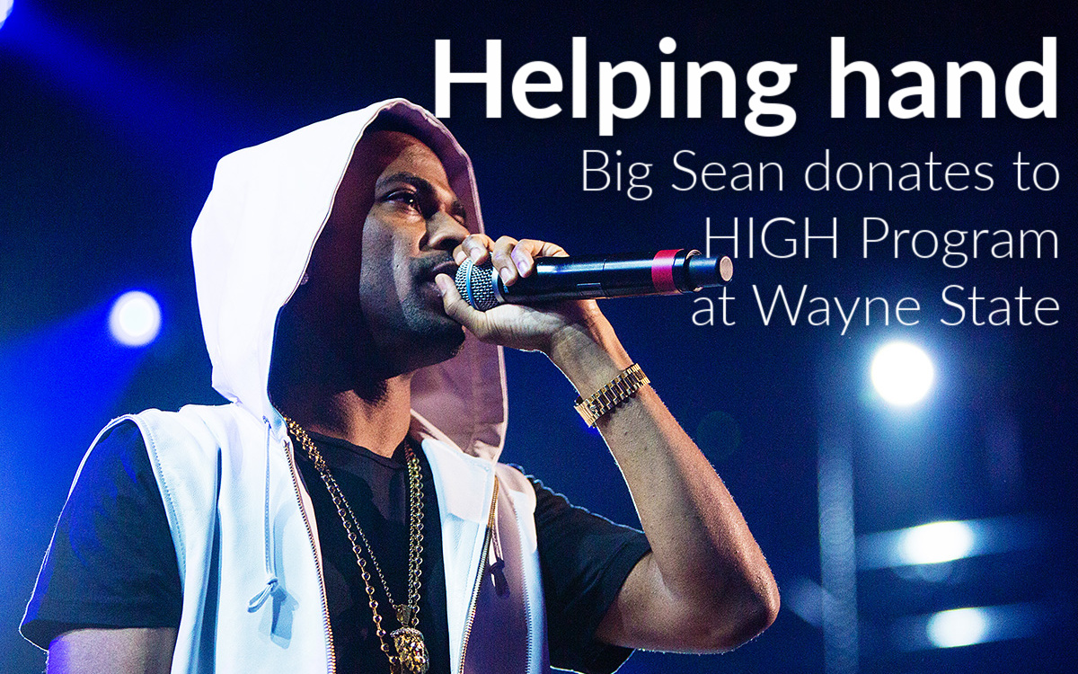 Sean Anderson Foundation donates $10,000 for Wayne State's HIGH Program