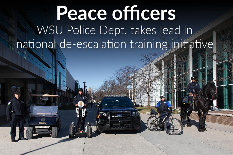 WSU Police Dept. spearheads national de-escalation training initiative