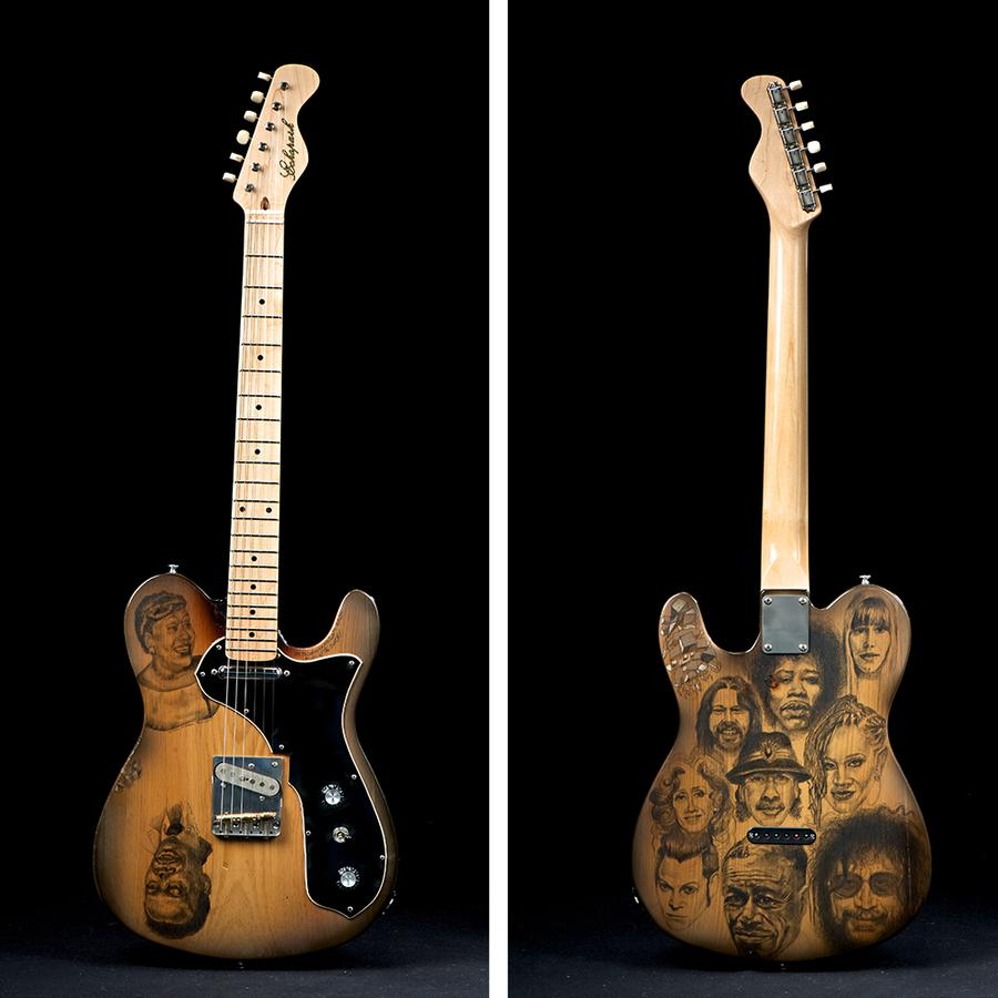 WDET raffle: Win a one-of-a-kind Echopark electric guitar