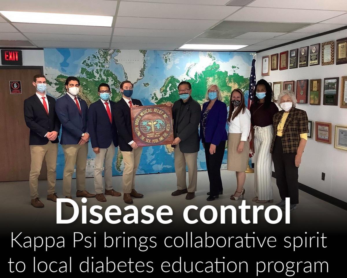 Kappa Psi brings collaborative spirit to diabetes education program in metro Detroit