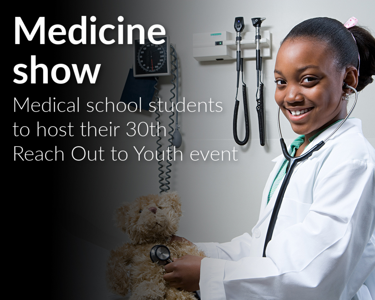 The Wayne State University School of Medicine's chapter of the Student National Medical Association will host its 30th Reach Out to Youth event Nov. 21. Registration is now open.