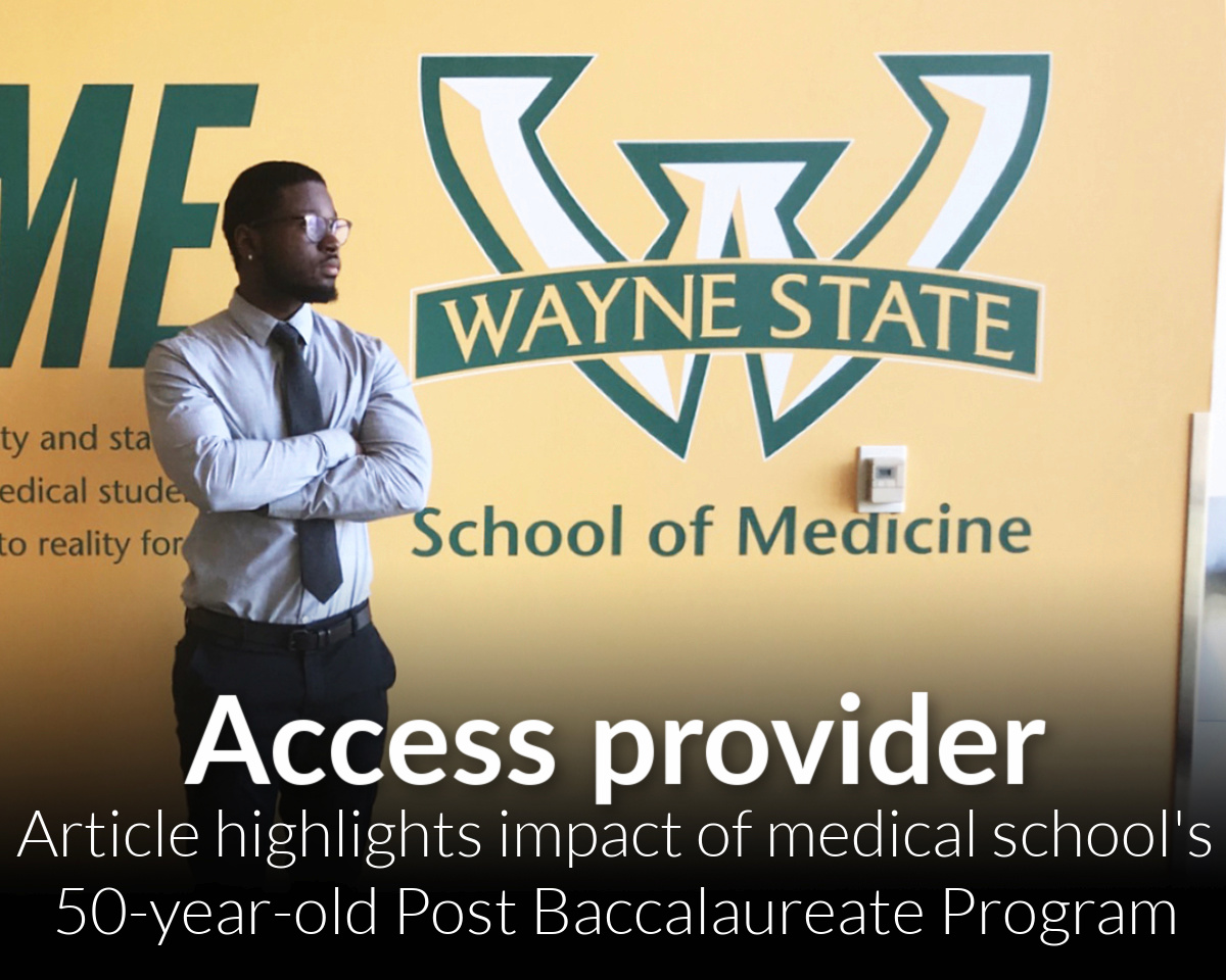 Journal of the AAMC report on Post Bacc Program