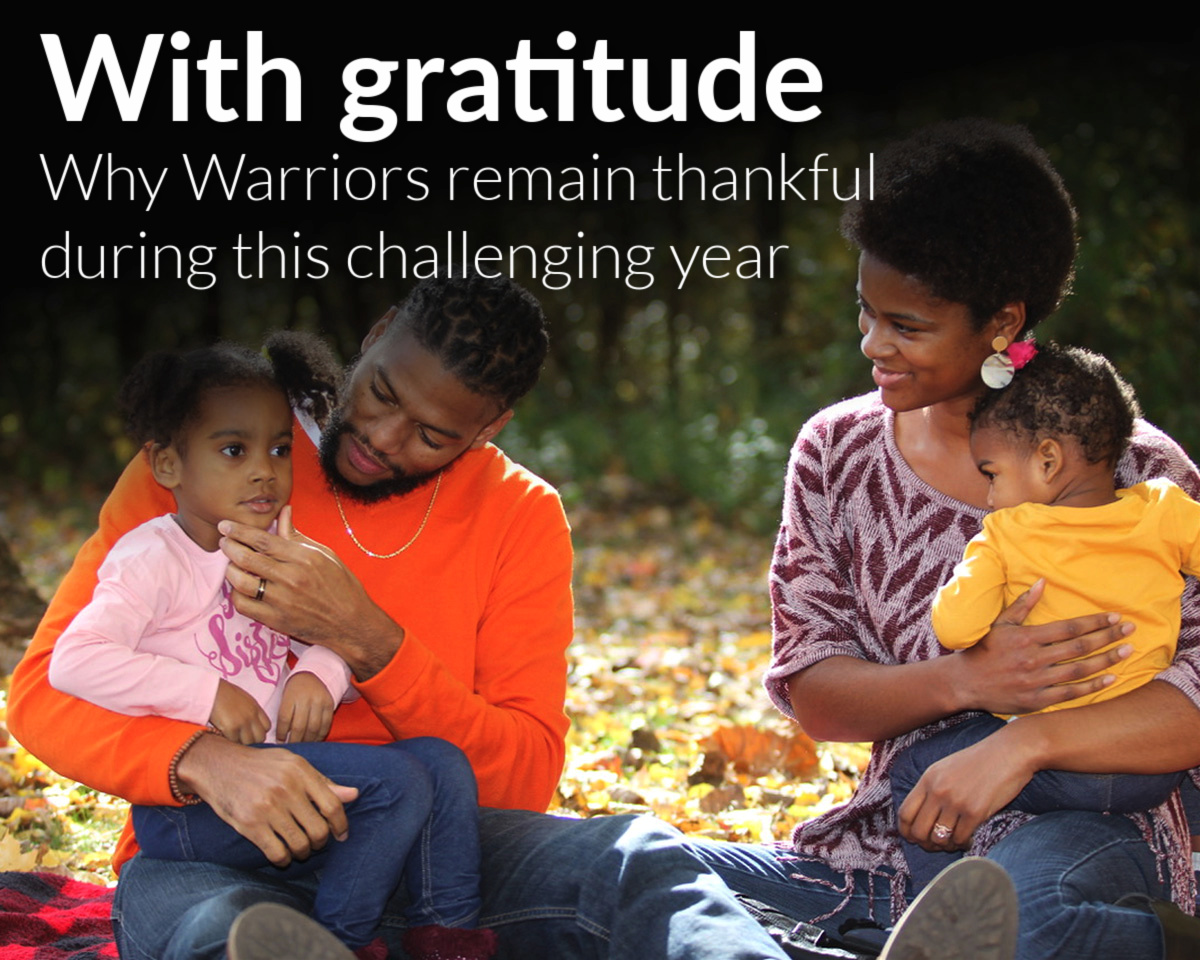 With gratitude: Why Warriors remain thankful this holiday season