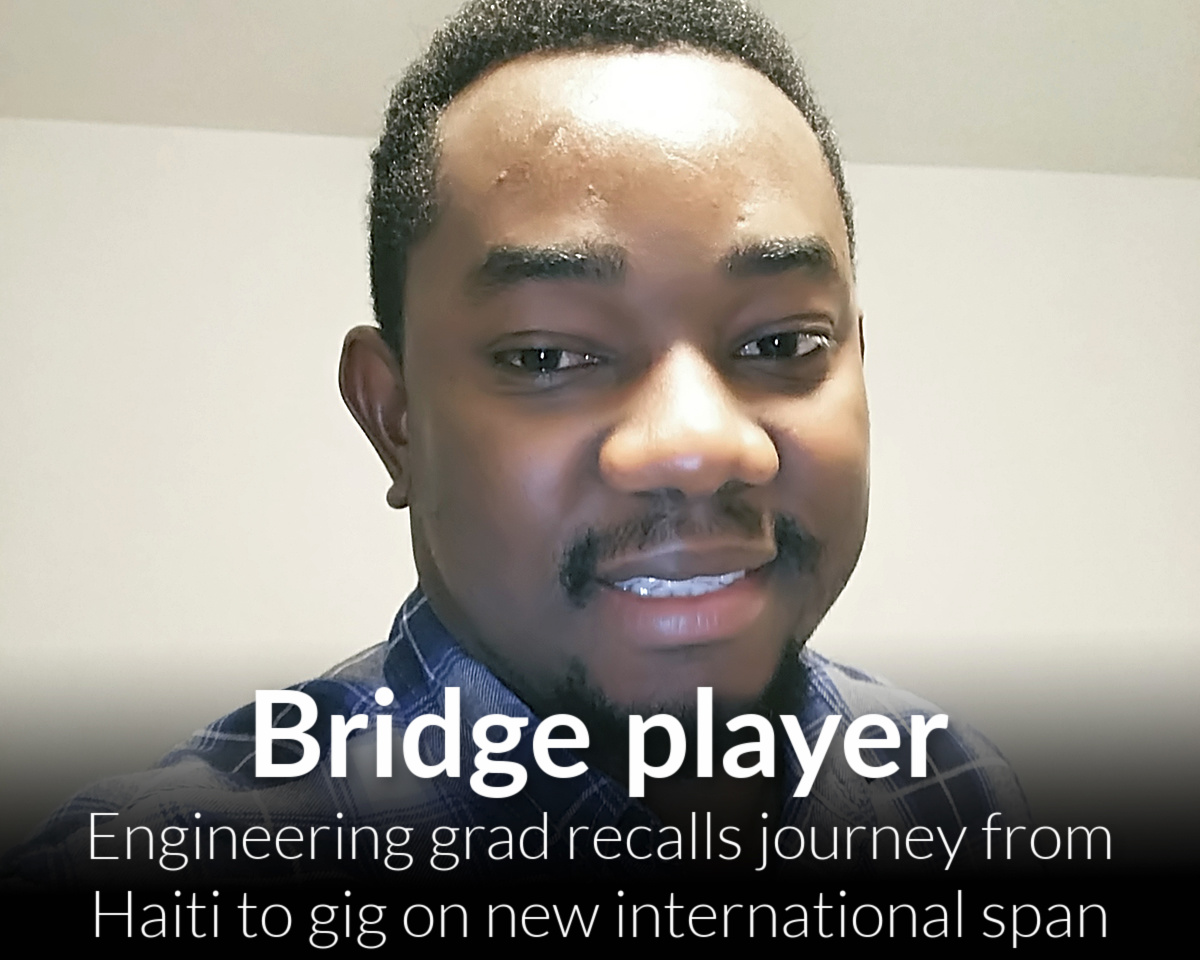 Engineering grad helping to build Gordie Howe Bridge recalls struggle to adapt to Michigan weather