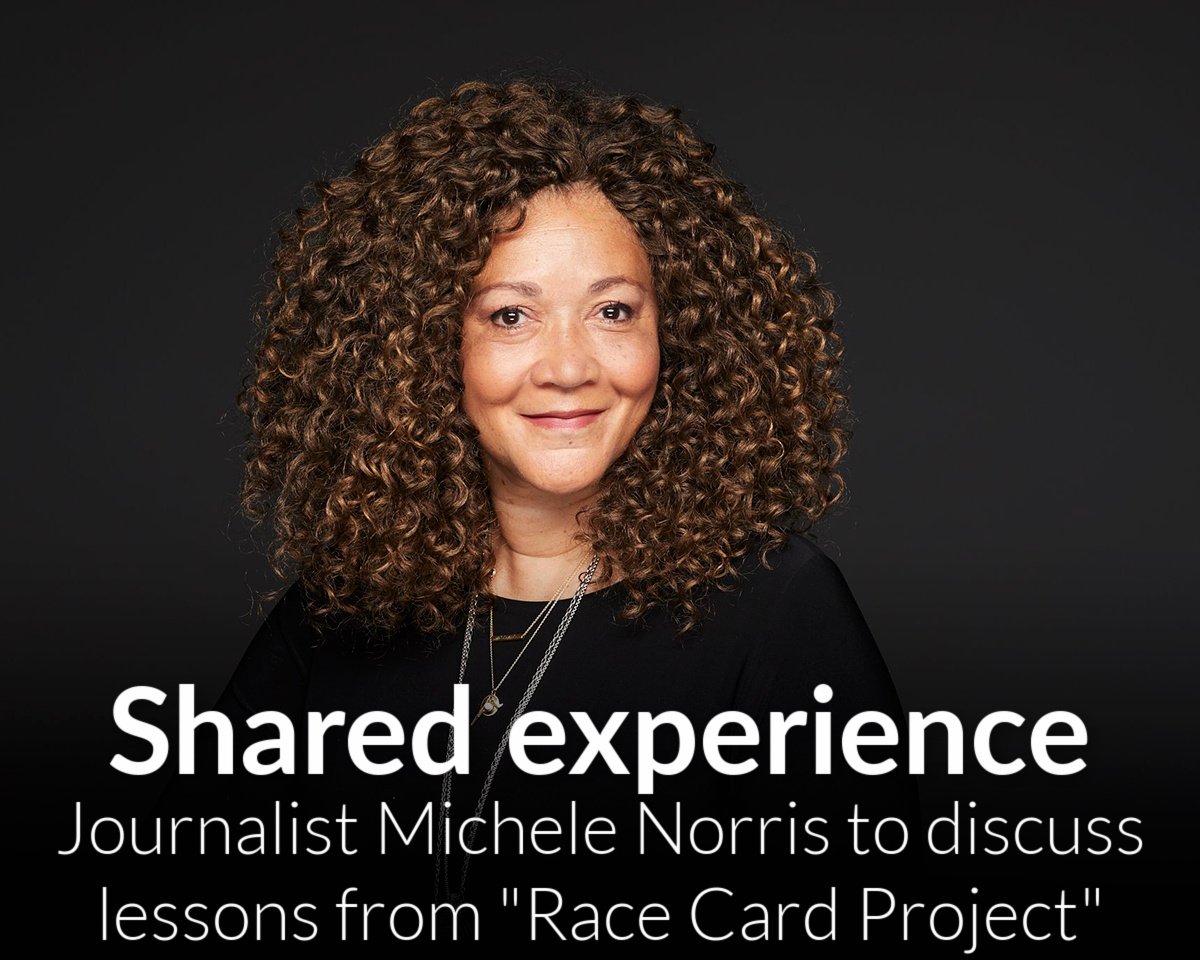 Michele Norris set to discuss race relations, personal journey