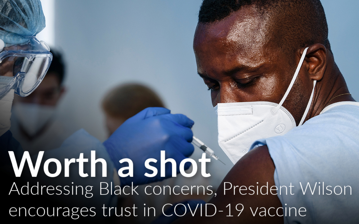 Wayne State president: Black people must overcome fear of COVID-19 vaccine