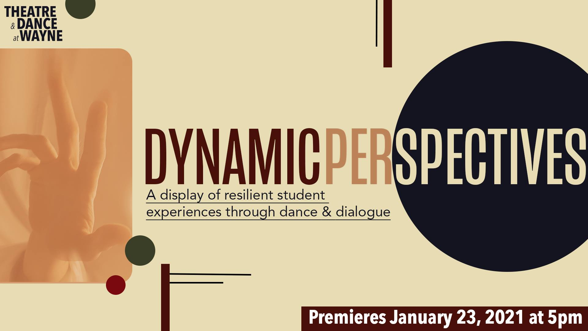 """""""Dynamic Perspectives"""" virtual dance production"""