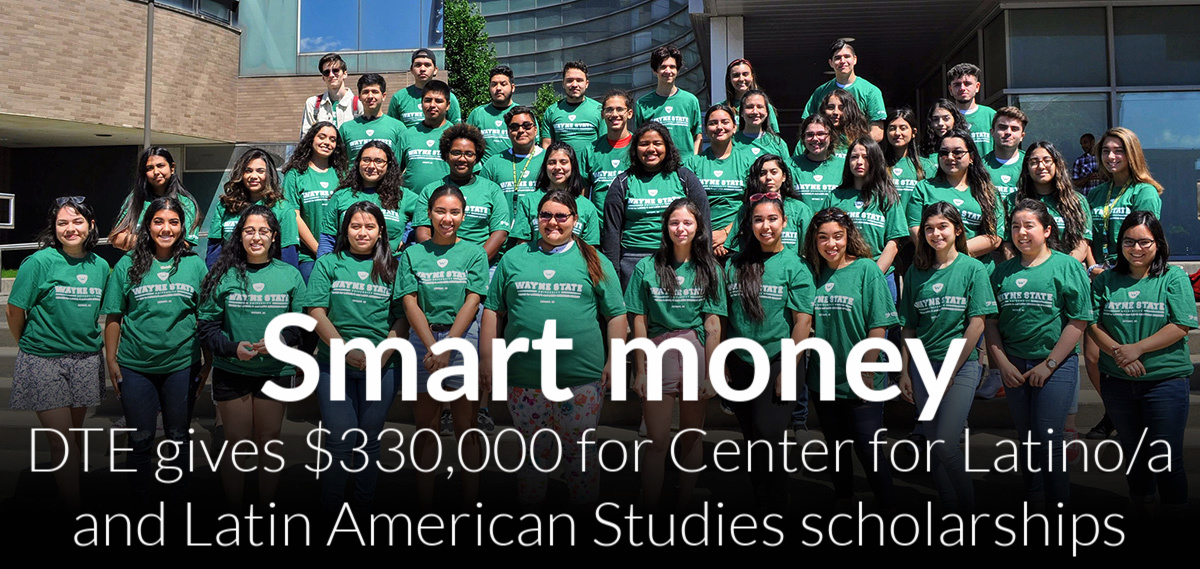 Center for Latino/a and Latin American Studies receives $330,000 DTE grant for Jorge Chinea Scholarship