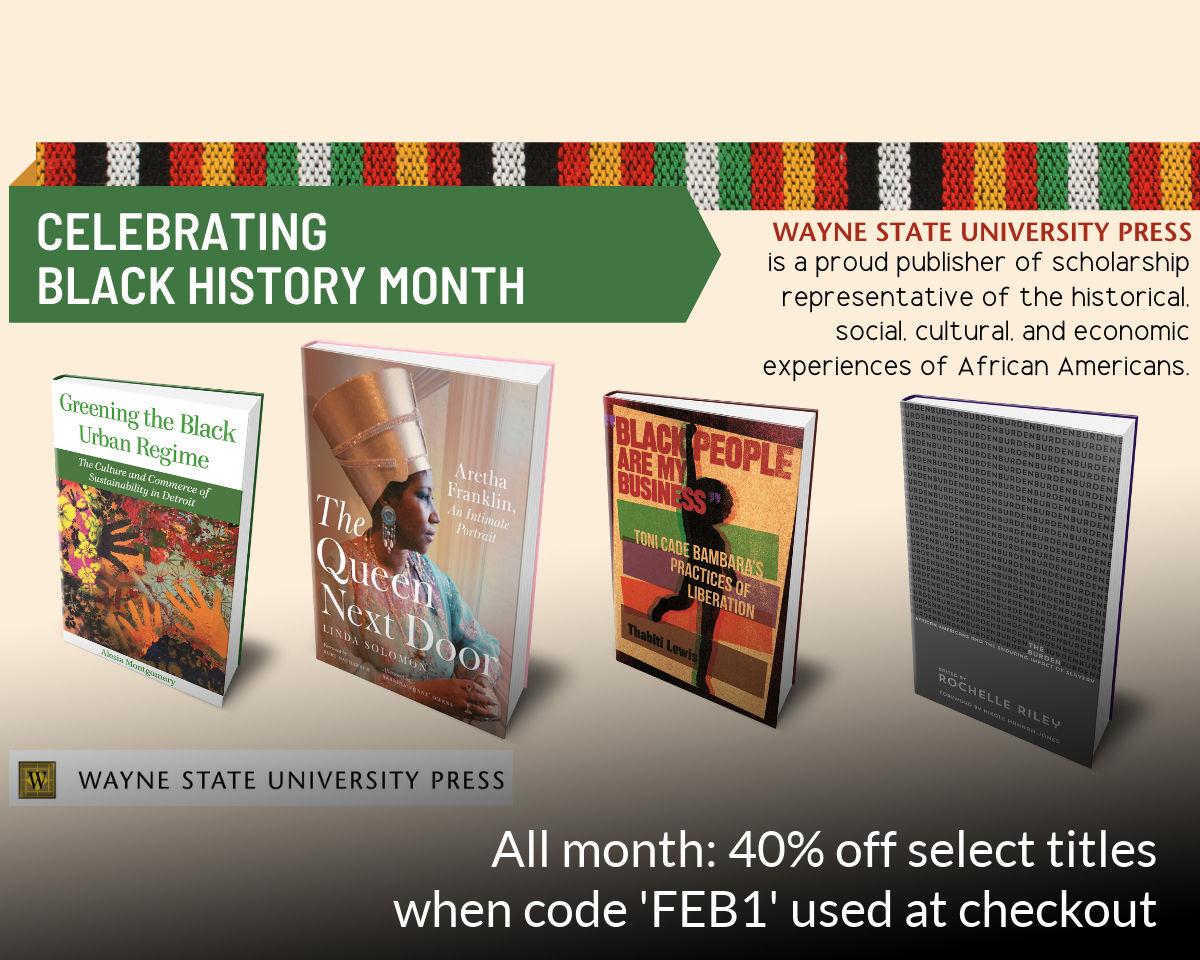 WSU Press Black History Month promo