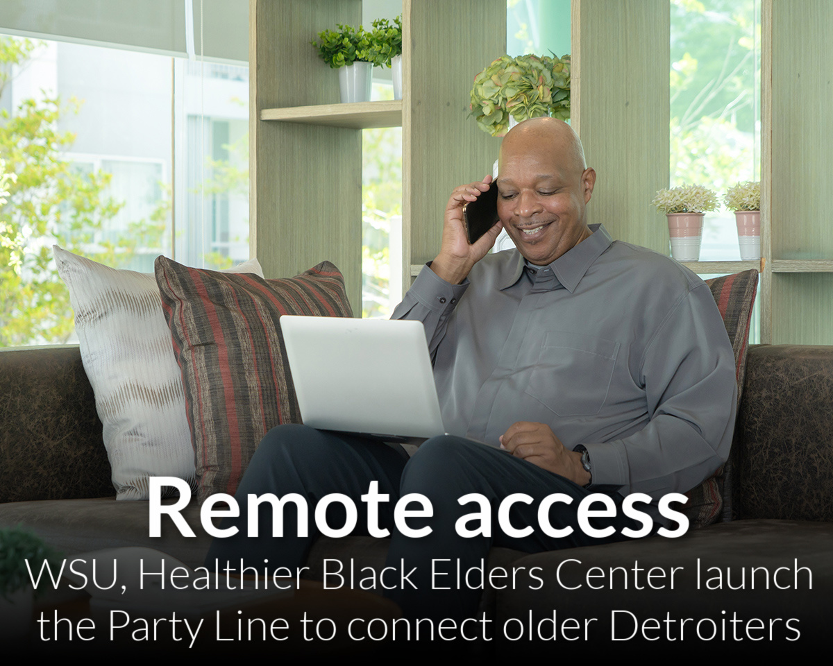 The Party Line: Linking older Detroiters in a virtual world
