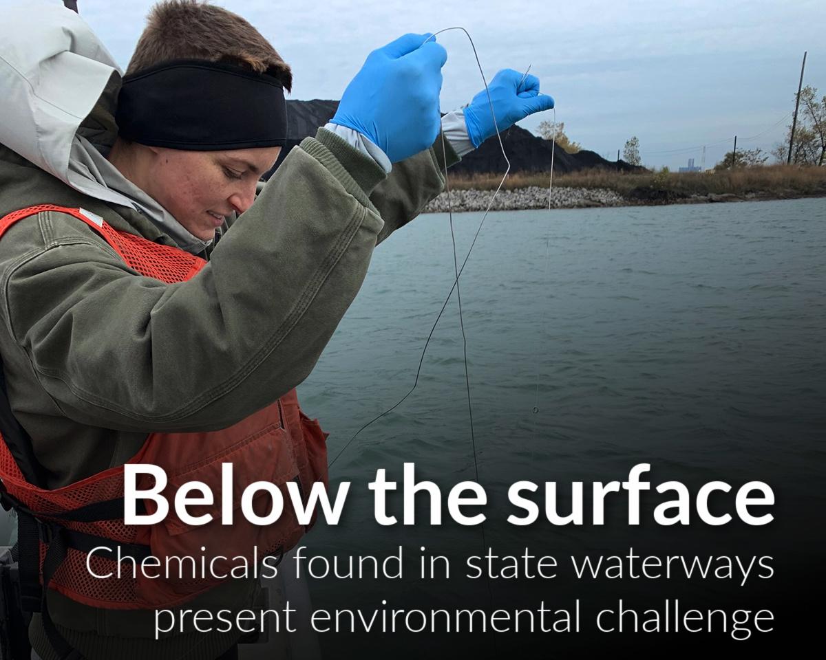 Chemicals in SE Michigan waterways