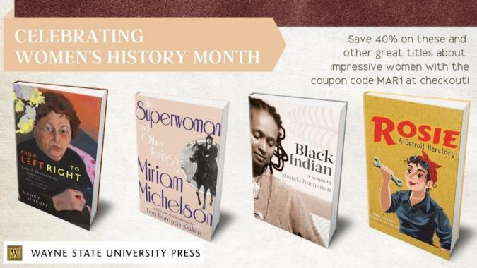 Women's History Month promo