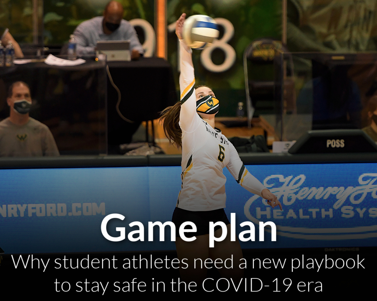 Why student athletes need a new playbook to stay safe in the COVID-19era