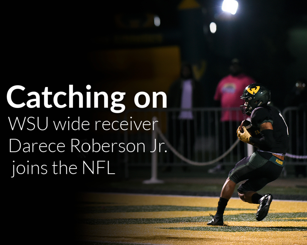 Wide receiver Darece Roberson Jr. signs with Arizona Cardinals of NFL
