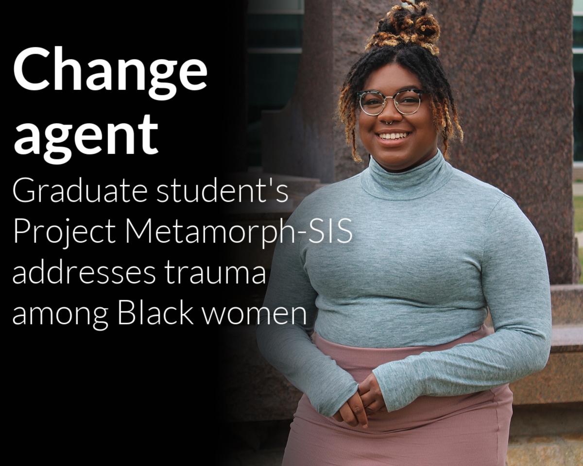 MSW student works to empower Black women through holistic wellness as Schweitzer Fellow