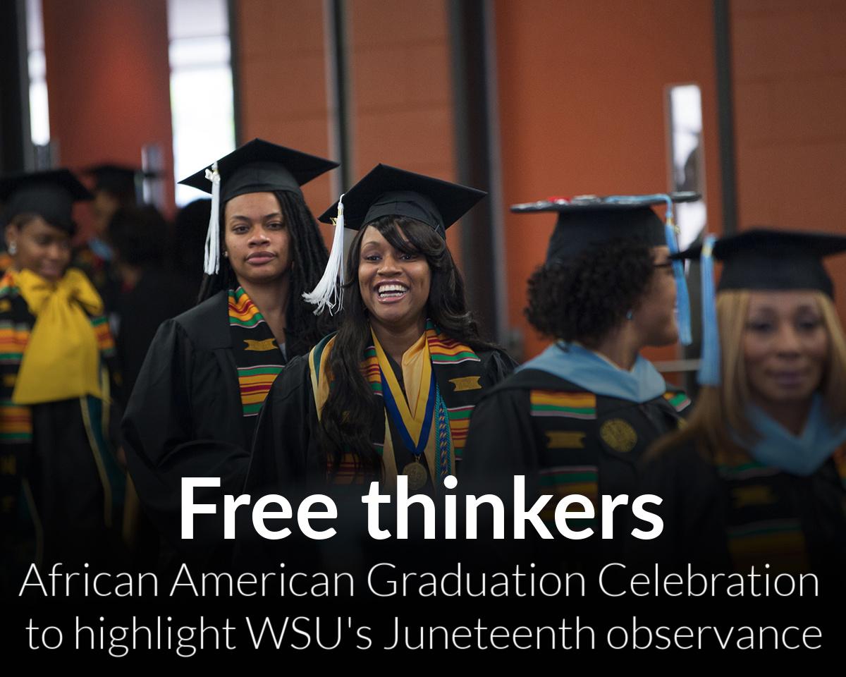 African American Graduation Celebration highlights weeklong Juneteenth observance