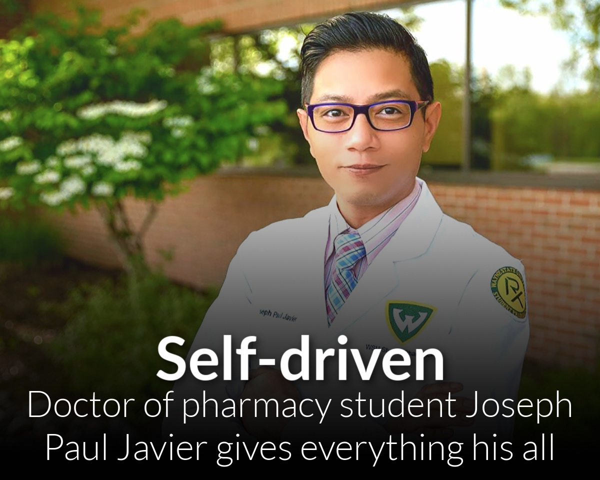Mind, heart and soul: Doctor of Pharmacy student Joseph Paul Javier gives everything his all
