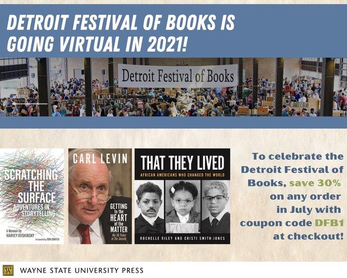 WSU Press Detroit Festival of Books