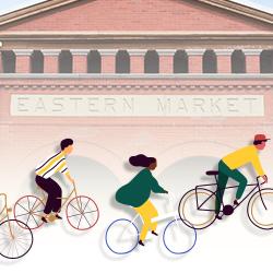 Group bike ride to Eastern Market