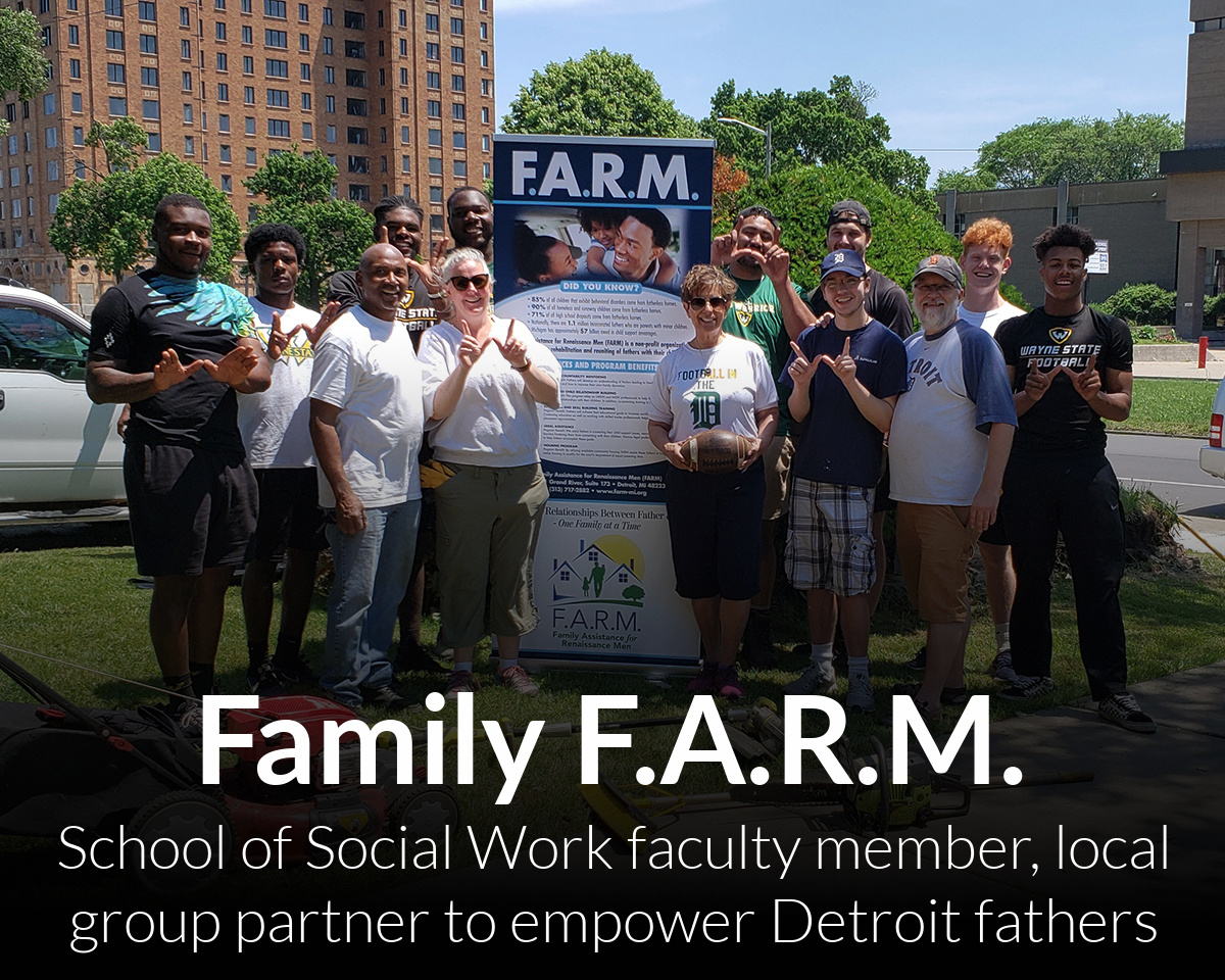 Changing the narrative: Social Work faculty member partners with local organization to empower Detroit fathers