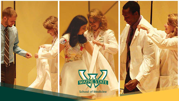 Support a time-honored tradition by sponsoring a white coat for an incoming member of the WSU School of Medicine Class of 2021