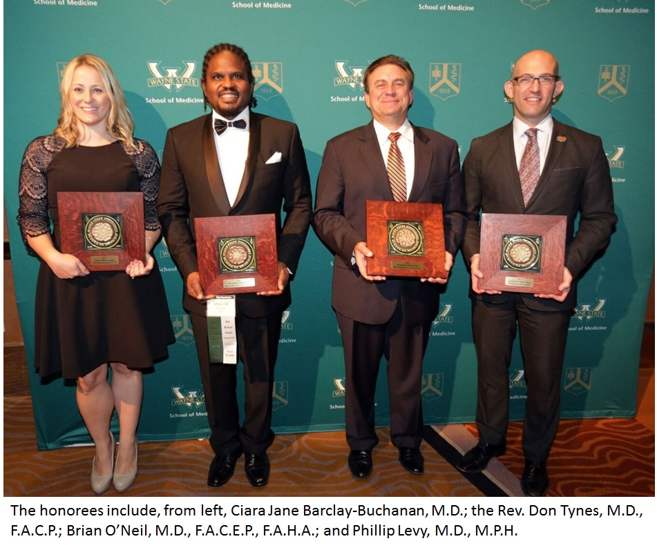 Time is running out! Nominate a physician or researcher for this year's medical Alumni Reunion awards, deadline Oct. 31