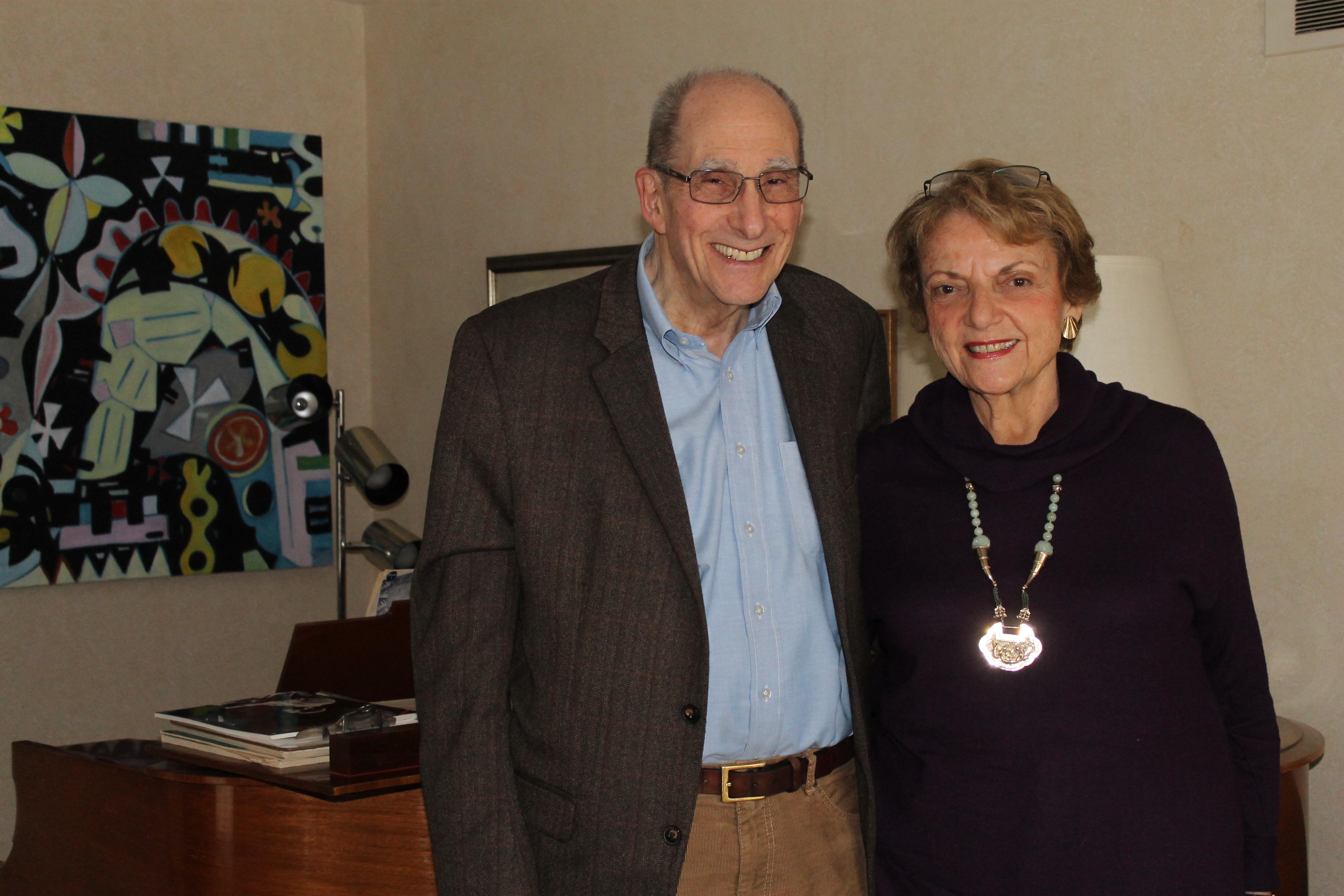 Alumni philanthropists - Dr. Edward and Mrs. Barbara Klarman create future Pivotal Moments