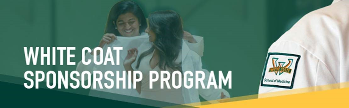 Support a time-honored tradition by sponsoring a white coat