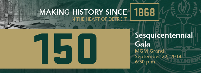 School of Medicine Sesquicentennial Gala set for Sept. 22 at MGM Grand Detroit