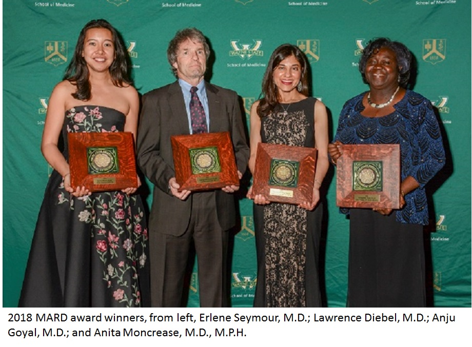 Four distinguished physicians honored during Medical Alumni Reunion 2018