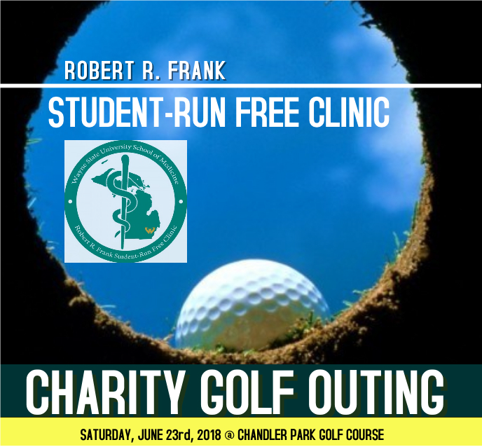 Robert R. Frank Student-Run Free Clinic Charity Golf Outing June 23