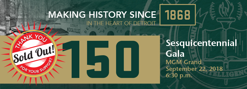 Sesquicentennial Gala Sold Out - Wait List Only