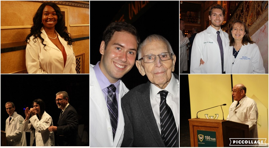 Family, pride and compassion celebrated at School of Medicine White Coat Ceremony for incoming M.D. Class of 2022
