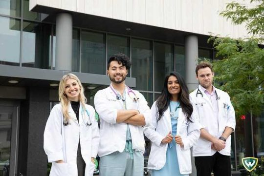 Students knocking down door to get into WSU School of Medicine