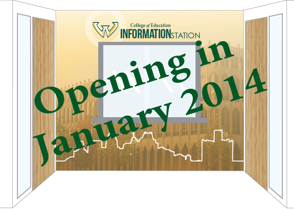 Information Station Opening in the College of Education