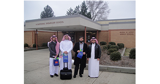 International Students Visit School in Southfield to Share Customs and Culture