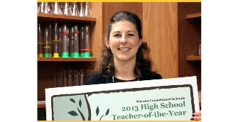 College of Education Alumnus Recipient of Local Teacher of the Year Award