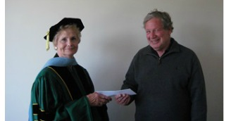 COE Student About to Receive Her Doctorate Found a New Way to Show Appreciation