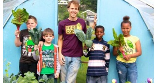 Center for School Health Partners with FoodCorps Michigan