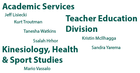 New Faculty and Staff to the College of Education