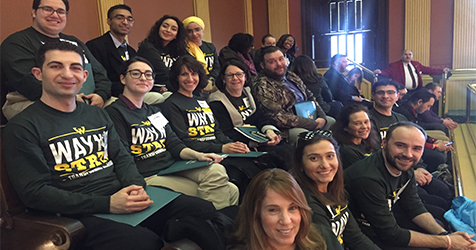 College of Education joins Warriors and takes over the state capitol