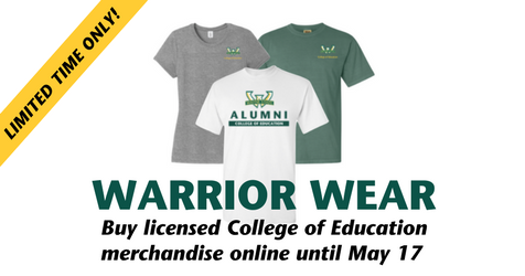 College of Education merchandise now available