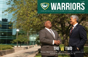 New magazine highlights Warriors' strength in Detroit communities