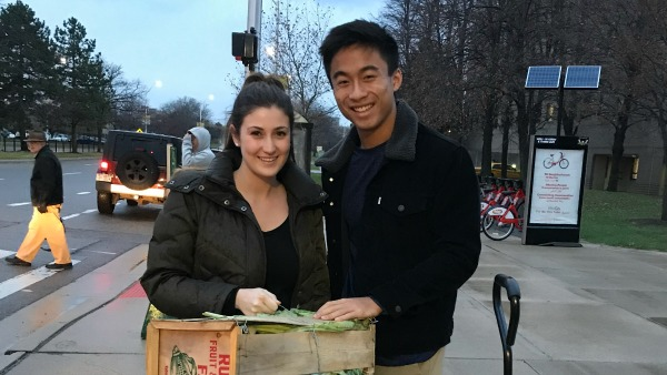 Student org provides solution for food waste